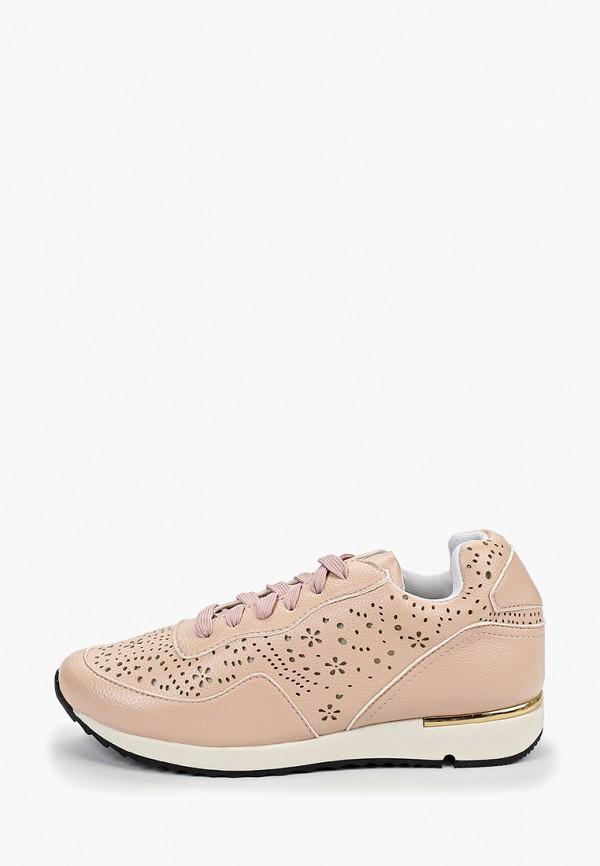 женские кроссовки forza viva, розовые
