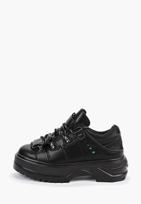 женские ботинки forza viva, черные