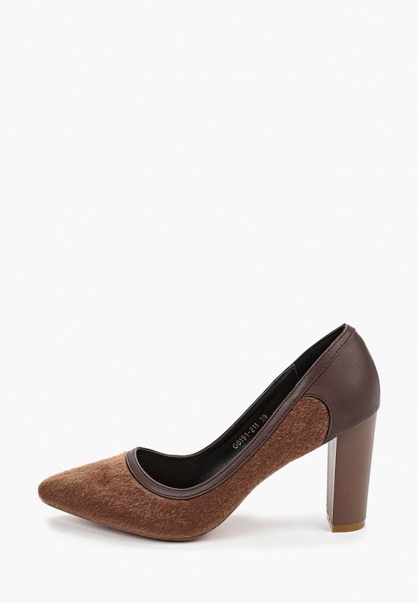 женские туфли forza viva, коричневые