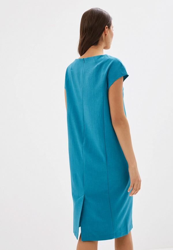 Платье Argent цвет бирюзовый  Фото 3