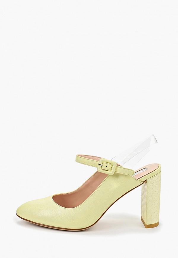 женские туфли inario, желтые