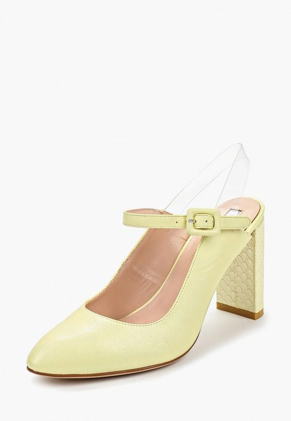Туфли Inario цвет желтый  Фото 2