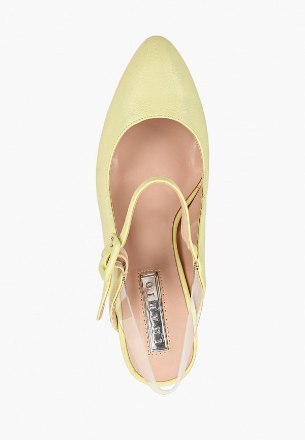 Туфли Inario цвет желтый  Фото 4