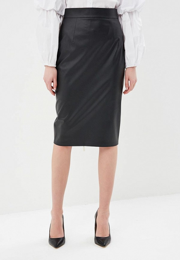 женская юбка gal fashion, черная