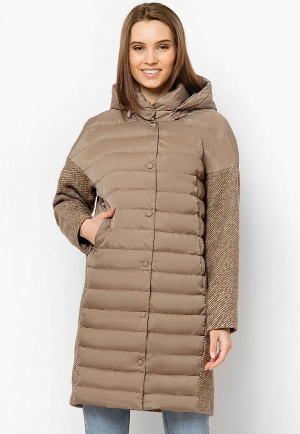 Купить Куртка утепленная Finn Flare, MP002XW0IWZJ, коричневый, Весна-лето 2018