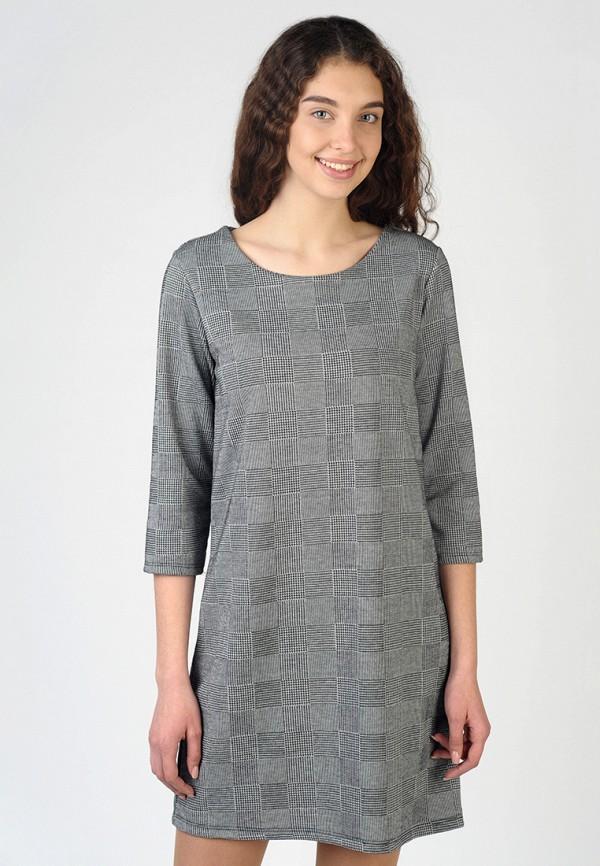 Фото - Женское платье Intrico серого цвета