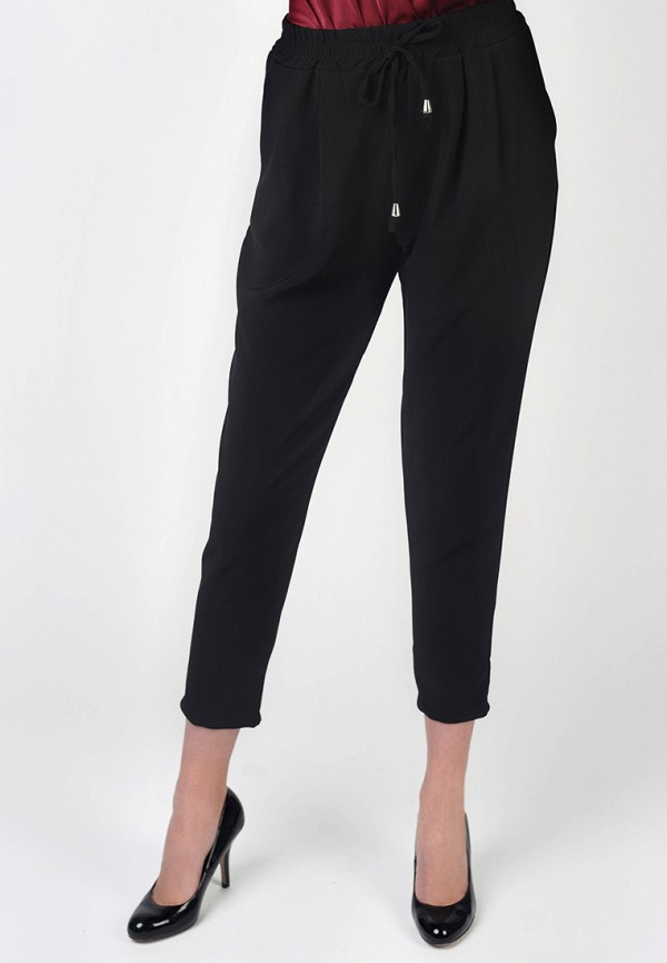 Фото - Женские брюки Intrico черного цвета