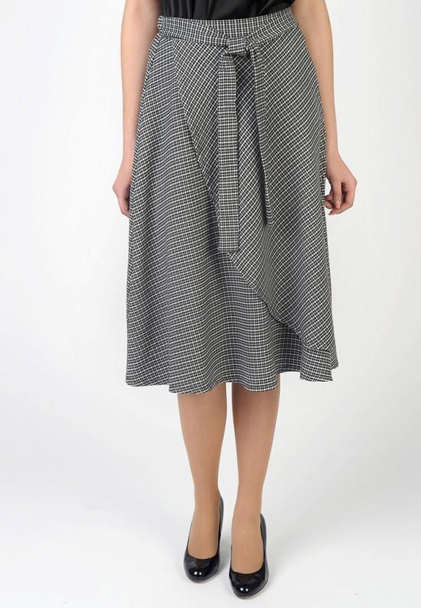 Фото - Женскую юбку Intrico серого цвета