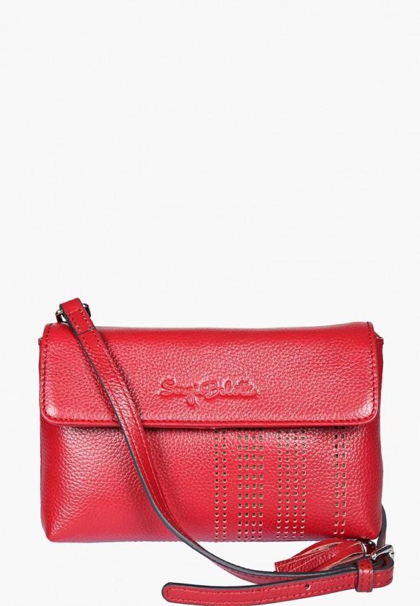 женская сумка sergio belotti, красная
