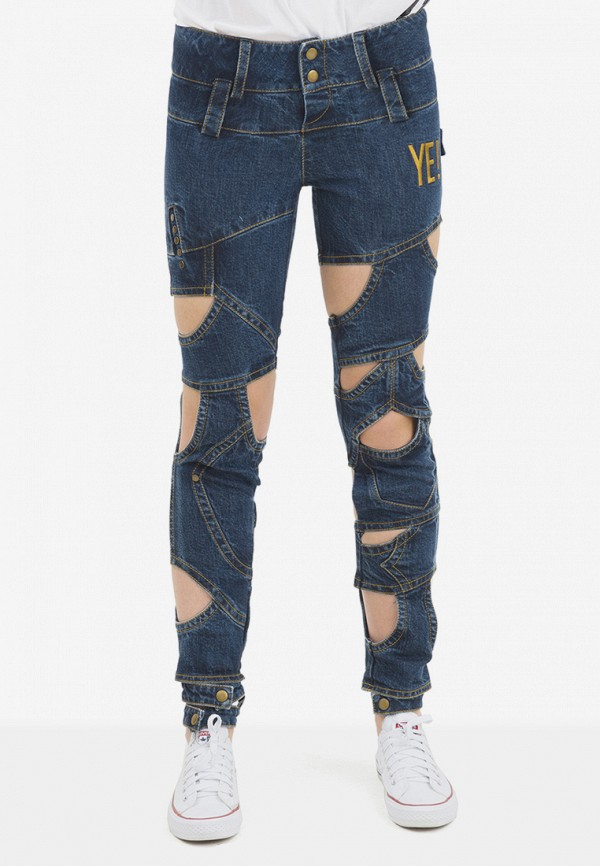 женские джинсы pavel yerokin, синие