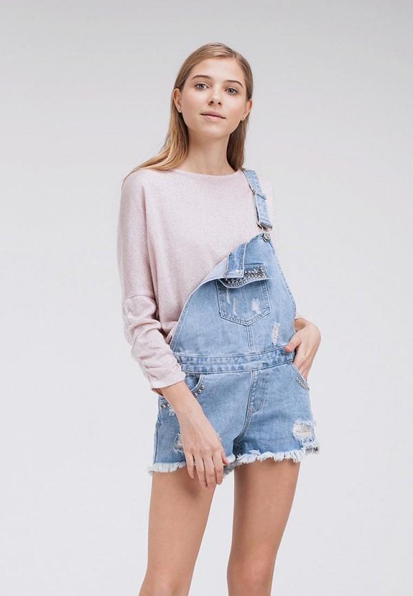 Купить Комбинезон джинсовый Lime, MP002XW0IY1Q, голубой, Весна-лето 2018