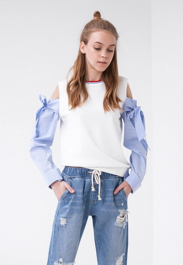 Купить Блуза LIME, MP002XW0IY2G, белый, Весна-лето 2018
