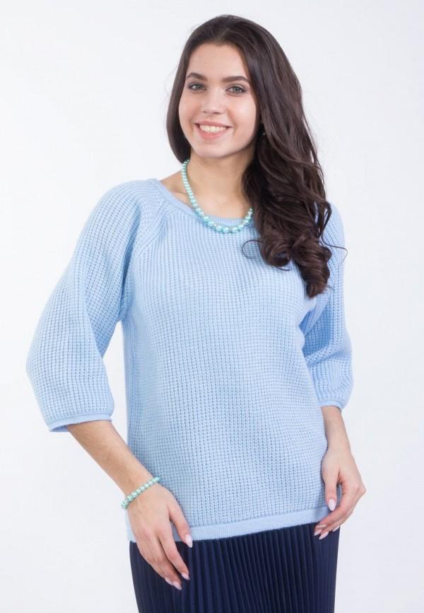 Купить женский джемпер Wisell голубого цвета
