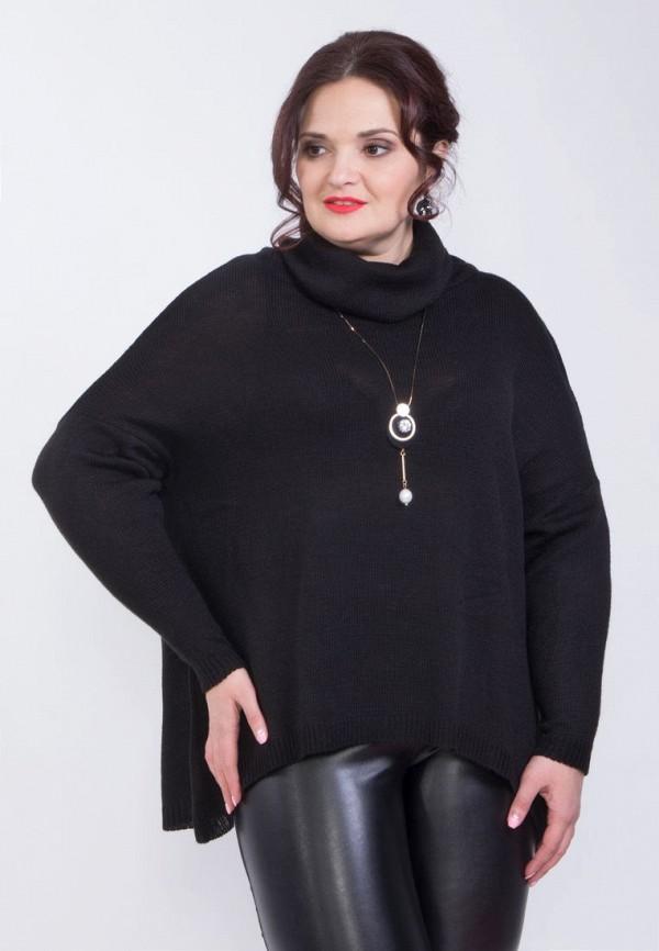 женская водолазка wisell, черная
