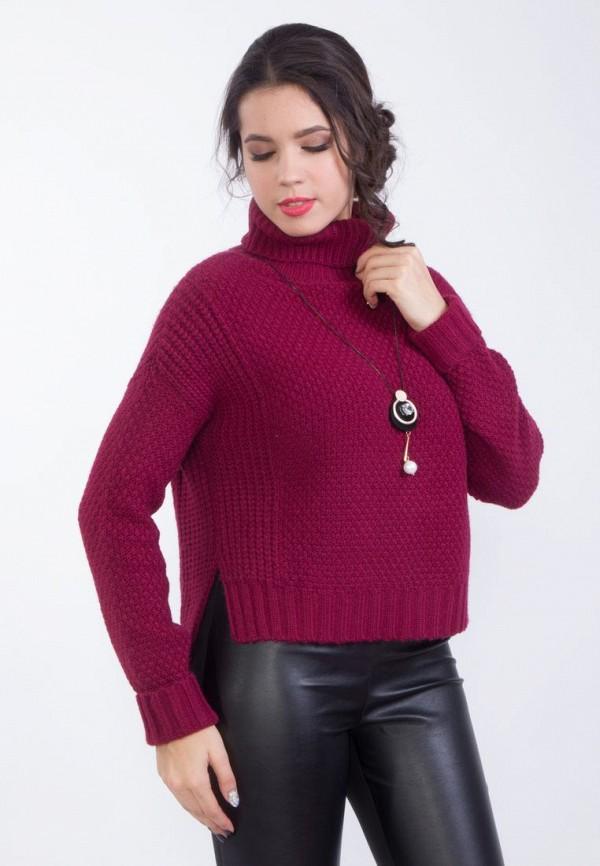 Купить женский свитер Wisell бордового цвета