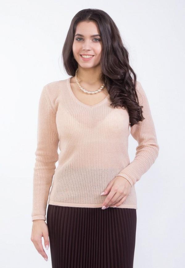 женский пуловер wisell, розовый