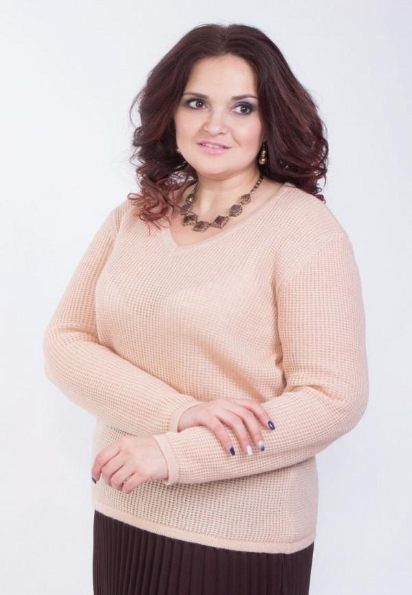Купить женский пуловер Wisell розового цвета