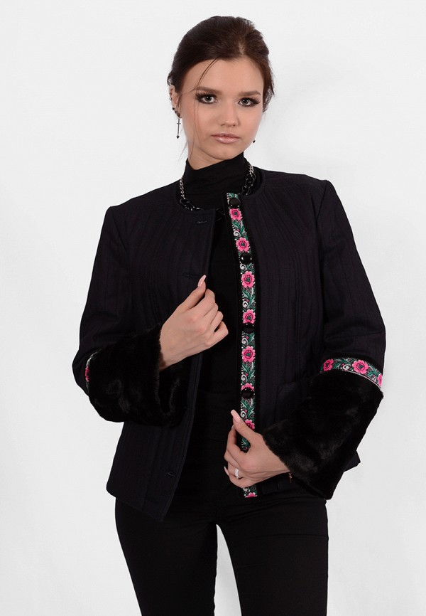 Купить женскую куртку Altezza черного цвета