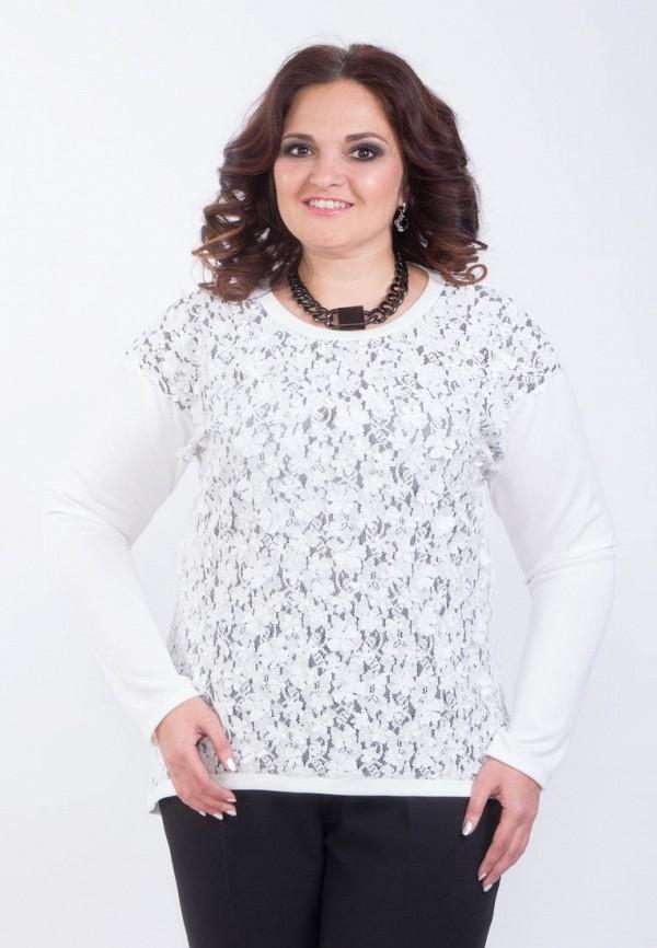 Купить женскую блузку Wisell белого цвета