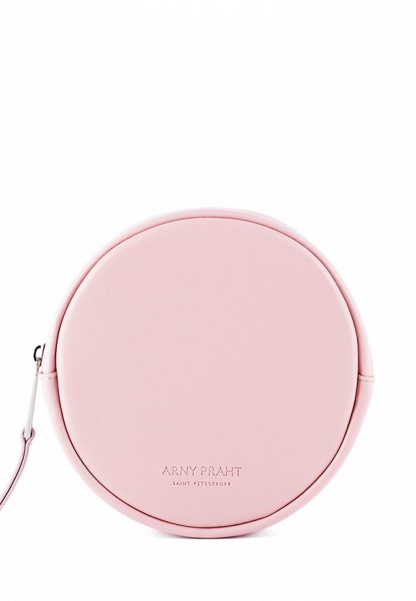 женская сумка arny praht, розовая