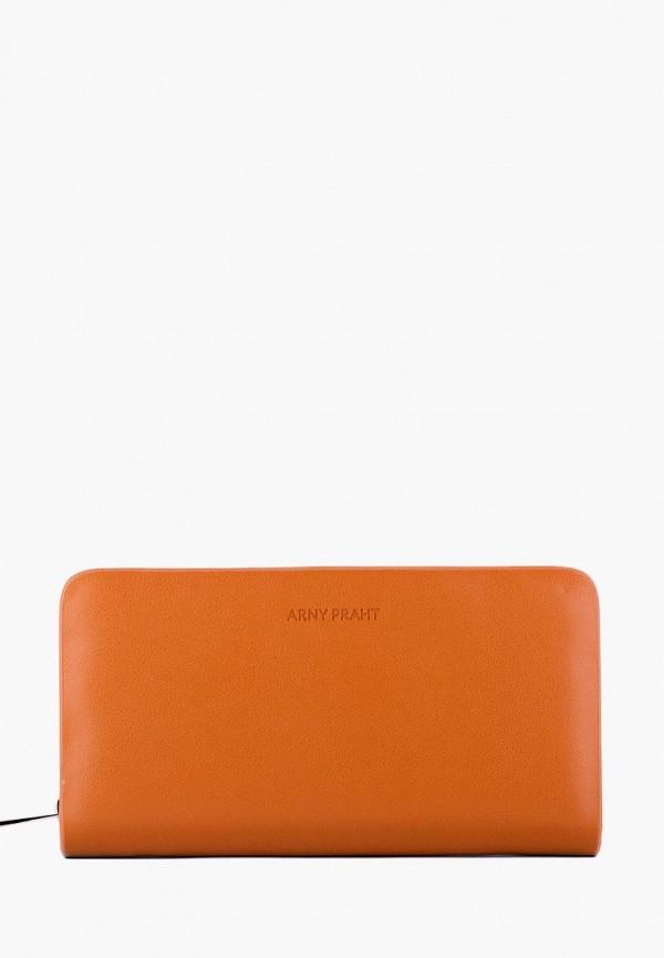 женский кошелёк arny praht, коричневый