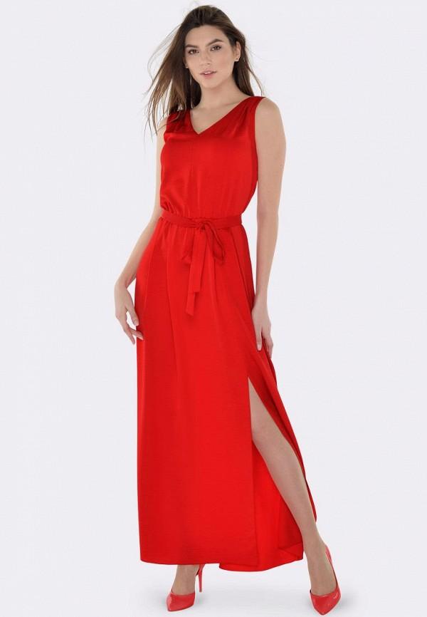 женское вечерние платье cat orange, красное