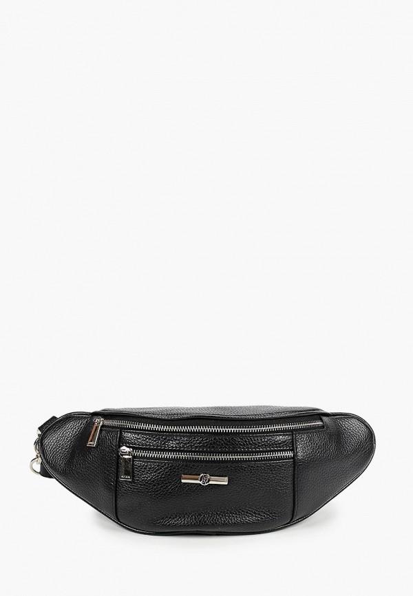 женская поясные сумка afina, черная