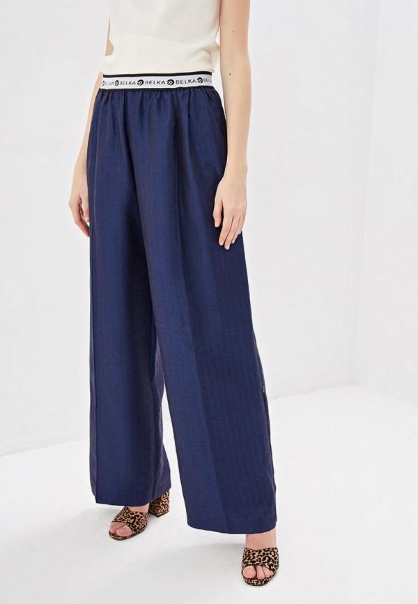 женские повседневные брюки belka, синие