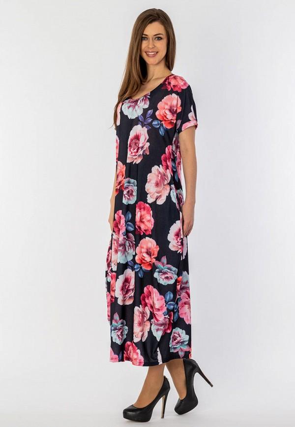 женское платье макси s&a style, разноцветное
