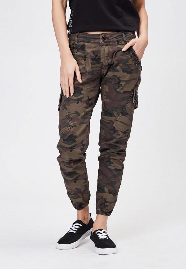 женские джинсы бойфренд whitney, коричневые