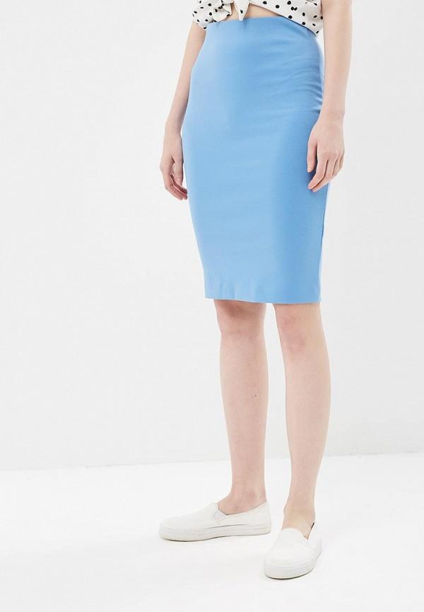 женская юбка ruxara, голубая