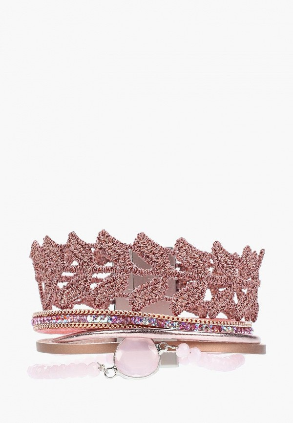 Купить Браслет Vitacci, MP002XW0JB32, розовый, Весна-лето 2018