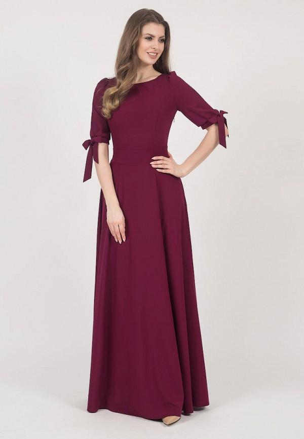 женское вечерние платье olivegrey, бордовое