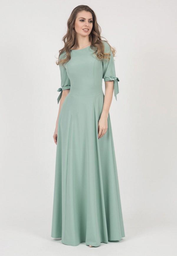 женское вечерние платье olivegrey, зеленое