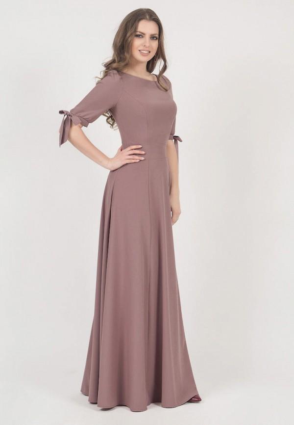 женское вечерние платье olivegrey, бежевое