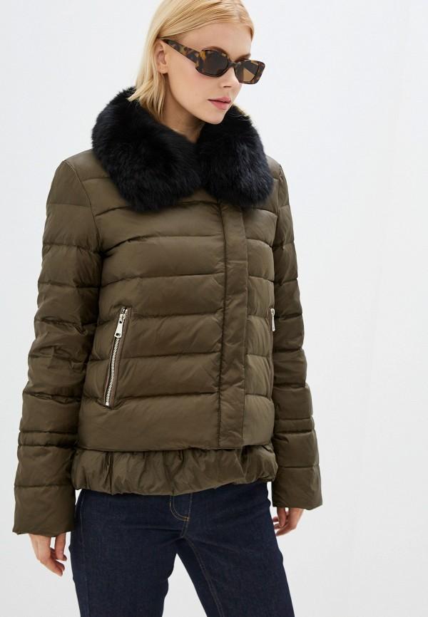 женская куртка acasta, хаки