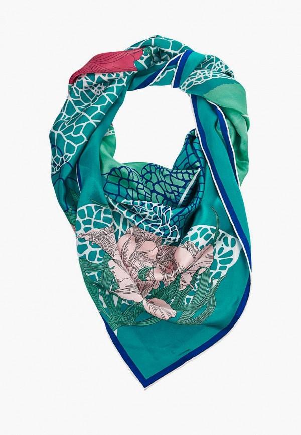 женский платок moltini, бирюзовый