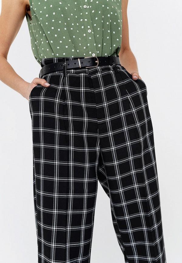 Фото 4 - Женские брюки Befree синего цвета