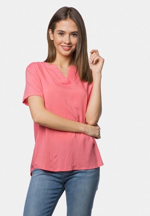 женская блузка mr520, розовая