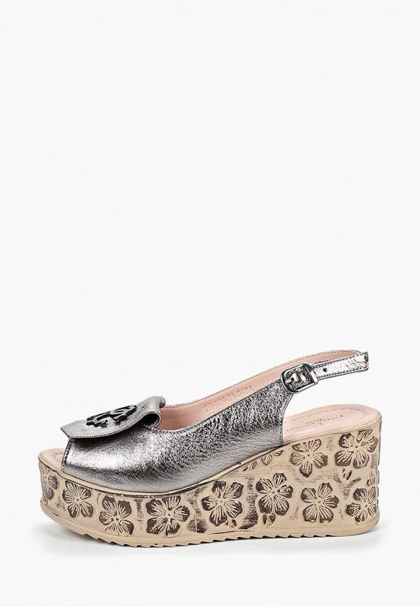 женские босоножки pierre cardin, серебряные