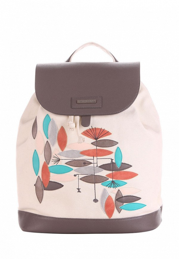 женский рюкзак alba soboni, бежевый