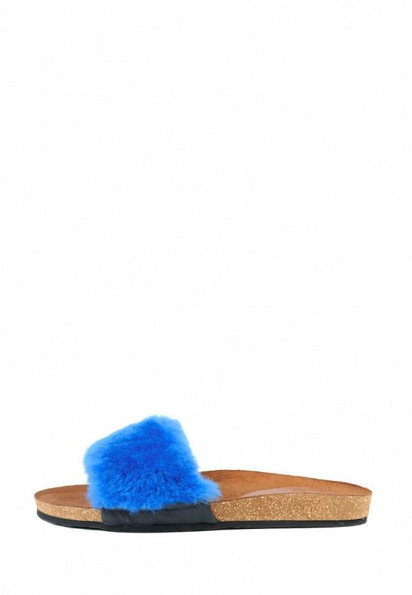 женское сабо litvin, синее
