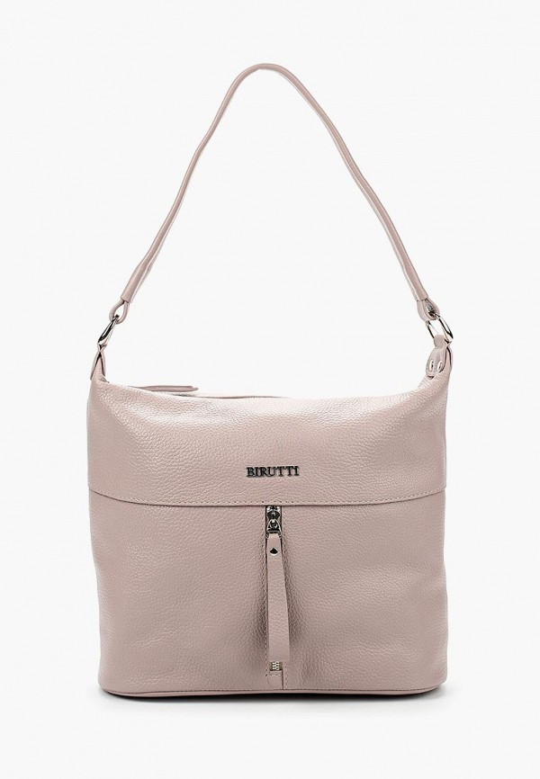 женская сумка alessandro birutti, розовая