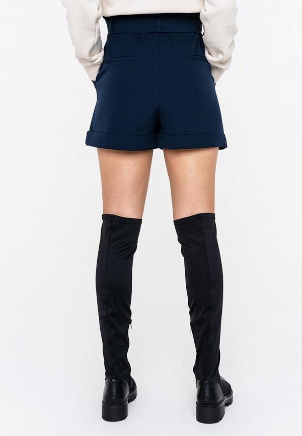 Фото 3 - Женские шорты Befree синего цвета