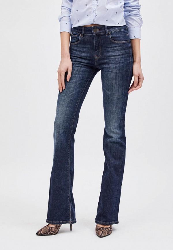 женские джинсы клеш whitney, синие