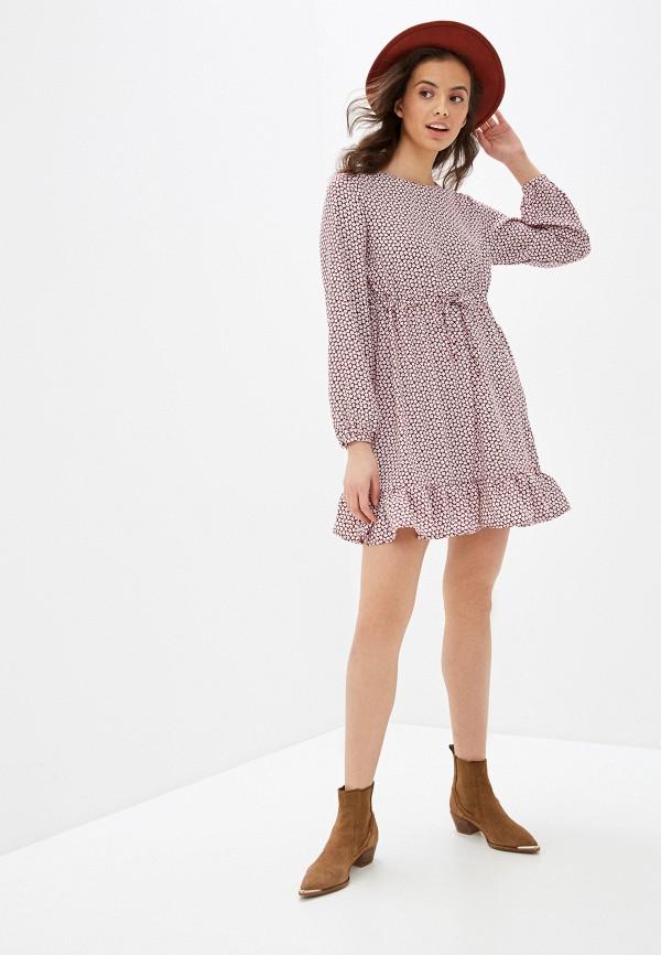 Фото 2 - Женское платье Befree разноцветного цвета