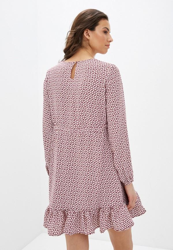 Фото 3 - Женское платье Befree разноцветного цвета