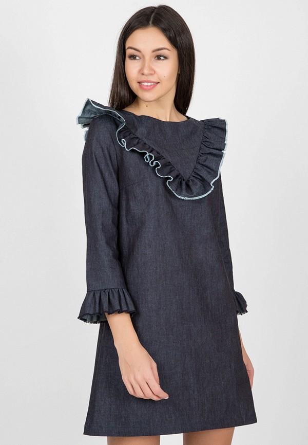 Платье джинсовое Madlen Madlen MP002XW0MQA4