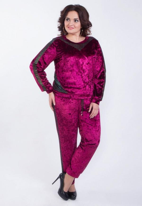 женский костюм wisell, розовый