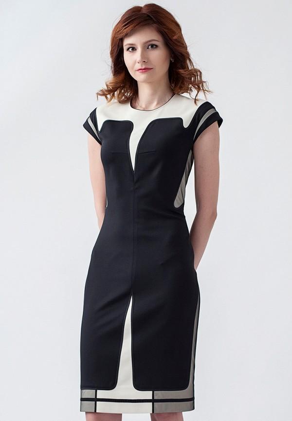 женское повседневные платье strygina, черное